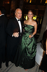LADY GABRIELLA WINDSOR and MANOLO BLAHNIK at the British Fashion Awards 2006 sponsored by Swarovski held at the V&A Museum, Cromwell Road, London SW7 on 2nd November 2006.<br />