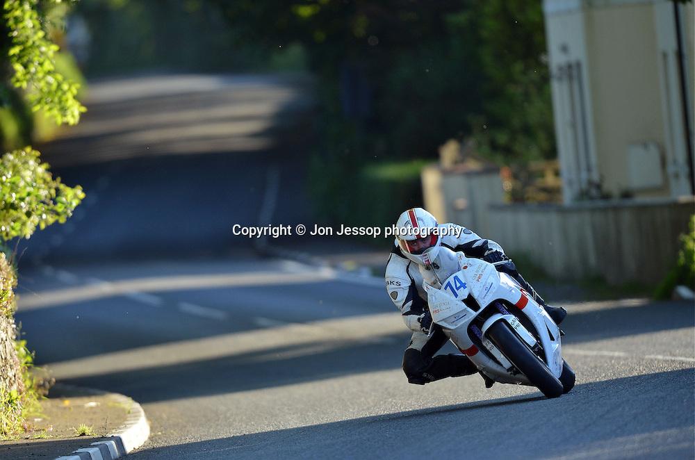 #74 Adrian Harrison Honda PRS Racing