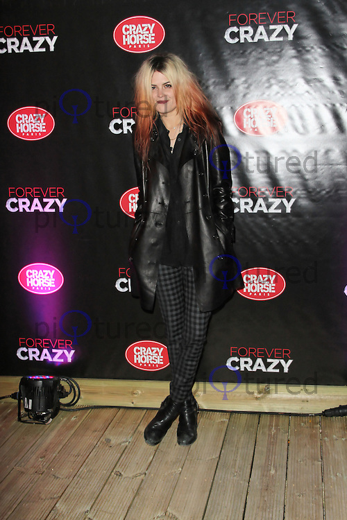LONDON - SEPTEMBER 19: Allison Mosshart attended the premiere of 'Crazy Horse Presents Forever Crazy' at The Crazy Horse, London, UK. September 19, 2012. (Photo by Richard Goldschmidt)