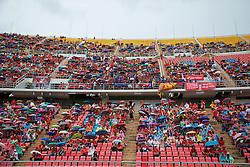 BANGKOK, THAILAND - Sunday, July 28, 2013: Supporters during a preseason friendly match between Liverpool and Thailand at the Rajamangala National Stadium. (Pic by David Rawcliffe/Propaganda)