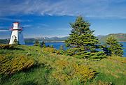 Woody Point Lighthouse <br /> Gros Morne National Park<br /> Newfoundland <br /> Canada