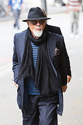 © Licensed to London News Pictures. 25/06/2014. London, UK. Former pop star, Gary Glitter (real name Paul Gadd) arrives at Southwark Crown Court in London on 25th January 2014 accused of a series of sex offences against two girls. Photo credit : Vickie Flores/LNP