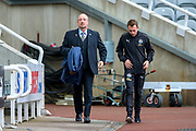 Newcastle United manager Rafael Benitez ahead of the Premier League match between Newcastle United and Watford at St. James's Park, Newcastle, England on 3 November 2018.