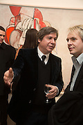GEORGE CONDO; NICK RHODES, George Condo - private view . Simon Lee Gallery, 12 Berkeley Street, London, 10 February 2014