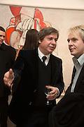 GEORGE CONDO; NICK RHODES, George Condo - private view . Simon Lee Gallery, 12 Berkeley Street, London, 10 February 2014