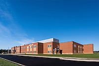 Exterior Image of Cardinal Ridge Elementary School in Loudoun County VA by Jeffrey Sauers of Commercial Photographics, Architectural Photo Artistry in Washington DC, Virginia to Florida and PA to New England