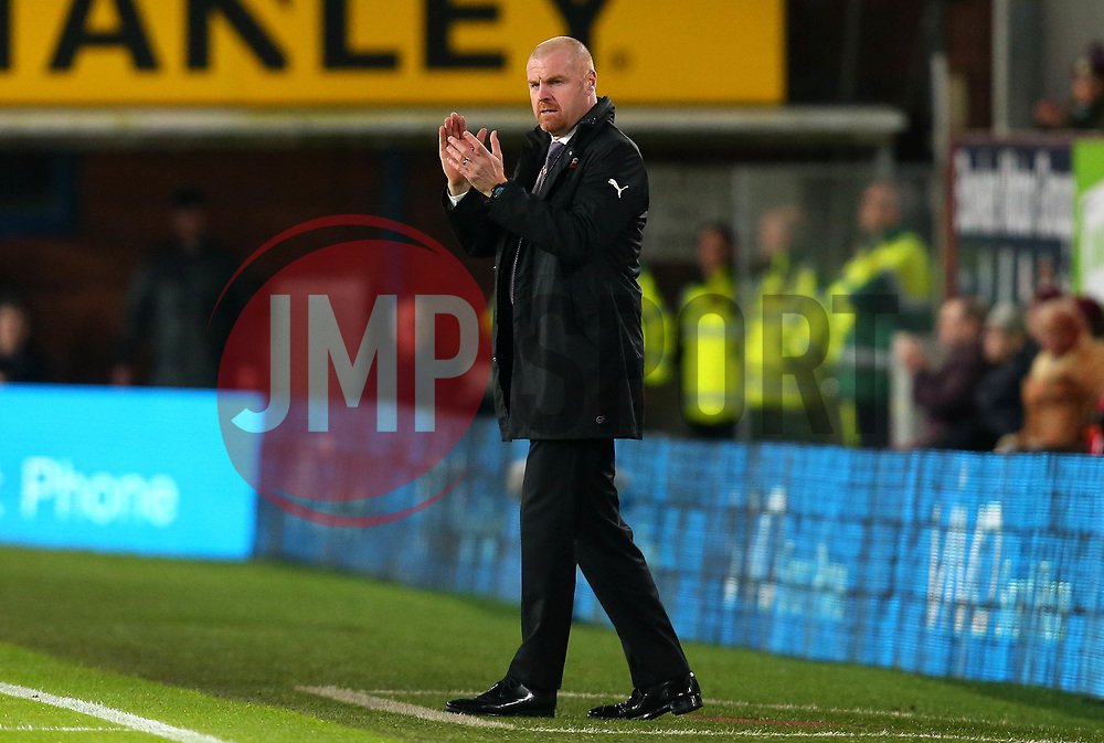Burnley manager Sean Dyche - Mandatory by-line: Robbie Stephenson/JMP - 30/10/2017 - FOOTBALL - Turf Moor - Burnley, England - Burnley v Newcastle United - Premier League