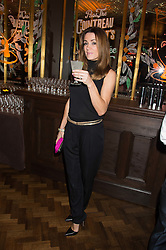 NATALIE PINKHAM at the Cointreau Creative Crew Launch at the Cafe Royal, Regent's Street, London on 27th October 2015.