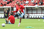 Sunderland midfielder Wahbi Khazri (10)in the warm up during the EFL Sky Bet Championship match between Barnsley and Sunderland at Oakwell, Barnsley, England on 26 August 2017. Photo by Justin Parker.
