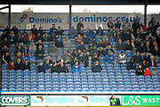 Hartlepool United fans during the EFL Sky Bet League 2 match between Portsmouth and Hartlepool United at Fratton Park, Portsmouth, England on 17 December 2016. Photo by Graham Hunt.