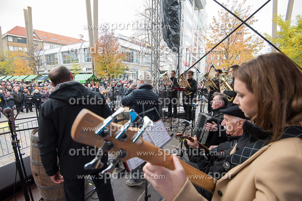 Neuvirtovi Štajerci during martinovanje, St. Martin's Day Celebration on November 11, 2019 in Maribor, Slovenia. Photo by Milos Vujinovic / Sportida
