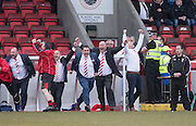 Argyle management Alan Henry and Neil Jardine celebrate at the final whistle - Dundee Argyle win the Scottish Sunday Trophy beating Bullfrog in the final at Forthbank, Stirling - Dundee Argyle win the Scottish Sunday Trophy beating Bullfrog in the final at Forthbank, Stirling<br /> <br /> <br />  - © David Young - www.davidyoungphoto.co.uk - email: davidyoungphoto@gmail.com