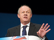Conservative Party Conference, ICC, Birmingham, Great Britain <br /> Day 3<br /> 9th October 2012 <br /> <br /> <br /> Rt Hon Damian Green MP <br /> Minister for Policing  <br /> <br /> <br /> Photograph by Elliott Franks<br /> <br /> United Kingdom<br /> Tel 07802 537 220 <br /> elliott@elliottfranks.com<br /> <br /> ©2012 Elliott Franks<br /> Agency space rates apply