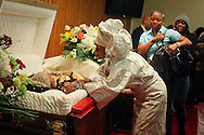Homegoing tribute for Joy Chatel, known as Mama Joy,a well known community activist, dancer, and cosemetologist, at the Frank R. Bell Funeral Home in Brooklyn.