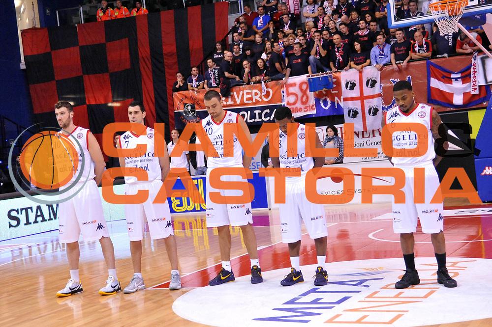 DESCRIZIONE : Biella Lega A 2011-12 Angelico Biella Banca Tercas Teramo<br /> GIOCATORE : Team<br /> SQUADRA : Angelico Biella<br /> EVENTO : Campionato Lega A 2011-2012<br /> GARA : Angelico Biella Banca Tercas Teramo<br /> DATA : 23/10/2011<br /> CATEGORIA : Curiosita<br /> SPORT : Pallacanestro<br /> AUTORE : Agenzia Ciamillo-Castoria/S.Ceretti<br /> Galleria : Lega Basket A 2011-2012<br /> Fotonotizia : Biella Lega A 2011-12 Angelico Biella Banca Tercas Teramo<br /> Predefinita :