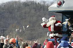 The 67 year of The Santa Special left Shelbyiana on Saturday, Nov. 22, 2008. (photo by Jonathan Palmer)