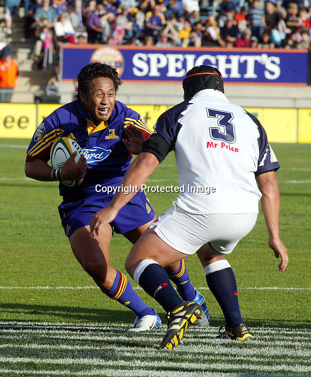 20 March 2004, Carrisbrook Stadium, Dunedin, New Zealand. Rugby Super 12, <br />