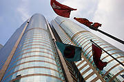 One and Two Exchange, home of the Hong Kong Stock Exchange, Central Hong Kong, China
