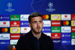 February 19, 2019 - Madrid, MADRID, SPAIN - Miralem Pjanic of Juventus during the press conference before the Champions League football match between Atletico de Madrid and Juventus at Wanda Metropolitano stadium, Madrid, Spain, Februeary 19th 2019. (Credit Image: © AFP7 via ZUMA Wire)