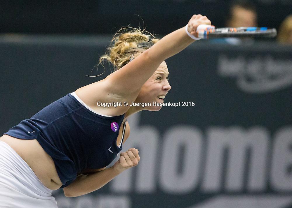 ANETT KONTAVEIT (EST)<br /> <br /> Tennis - Ladies Linz 2016 - WTA -  TipsArena  - Linz - Oberoesterreich - Oesterreich - 11 October 2016. <br /> &copy; Juergen Hasenkopf