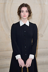 Sai Bennett attending the Christian Dior show during Paris Fashion Week Ready to wear FallWinter 2017-18 on March 03, 2017 in Paris, France. Photo by Aurore Marechal/ABACAPRESS.COM
