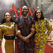 African Fashion Week London 2019 #AFWL2019 - backstage at Freemasons Hall on 9 August 2019, London, UK.
