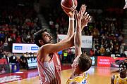 Riccardo Cervi<br /> Openjobmetis Varese - Carpegna Prosciutto Basket Pesaro<br /> Basket Serie A LBA 2019/2020<br /> Varese 15 December 2019<br /> Foto Mattia Ozbot / Ciamillo-Castoria