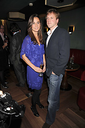 PIPPA MIDDLETON and  at a party to celebrate the 10th Anniversary of Claridge's Bar, Claridge's Hotel, Brook Street, London on 11th November 2008.