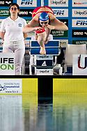 BIANCHI Ilaria ITA Fiamme Azzurre<br /> 100 Farfalla Donne<br /> Campionato Italiano Assoluto UnipolSai Primaverile di Nuoto 03/04/2019<br /> Nuoto Swimming<br /> <br /> Stadio del Nuoto di Riccione<br /> Photo © Andrea Masini/Deepbluemedia/Insidefoto