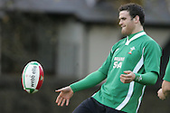 The Wales rugby team press conference and team training on 18/11/2008 ahead of their autumn international against New Zealand.  Jamie Roberts . pic by Andrew Orchard ©  Andrew Orchard sports photography