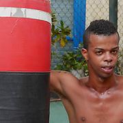 Scenes from the Rafael Trejo Boxing Gym, Havana, Cuba