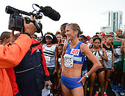 PORT ELIZABETH, SOUTH AFRICA - JULY 30: Tanith Maxwell of Western Province during the SA Half Marathon Championships on July 30, 2016 in Port Elizabeth, South Africa. (Photo by Roger Sedres/Gallo Images)
