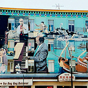 Jazz Mural, North Beach
