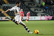 Mike Edwards during the Sky Bet League 1 match between Notts County and Milton Keynes Dons at Meadow Lane, Nottingham, England on 26 December 2014. Photo by Jodie Minter.