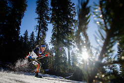 Erik Lesser (GER) during Men 15 km Mass Start at day 4 of IBU Biathlon World Cup 2015/16 Pokljuka, on December 20, 2015 in Rudno polje, Pokljuka, Slovenia. Photo by Ziga Zupan / Sportida