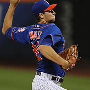 Pitcher Steven Matz, New York Mets, pitching during the New York Mets Vs New York Yankees MLB regular season baseball game at Citi Field, Queens, New York. USA. 18th September 2015. Photo Tim Clayton