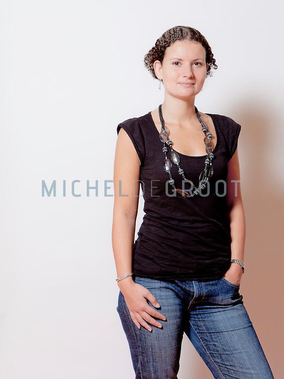 Karin Berendsen, activiteiten coördinator bij de Wielborgh (Het Polderwiel) in Dordrecht
