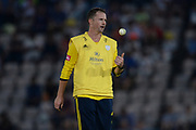 Colin Munro of Hampshire during the Vitality T20 Blast South Group match between Hampshire County Cricket Club and Middlesex County Cricket Club at the Ageas Bowl, Southampton, United Kingdom on 20 July 2018. Picture by Dave Vokes.
