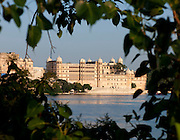 The City Palace across Lake Pichhola Udaipur