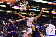 NBA: New York Knicks at Phoenix Suns//20160309
