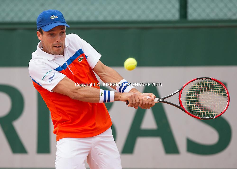 Roberto Bautista-Agut (ESP)<br /> <br /> Tennis - French Open 2016 - Grand Slam ITF / ATP / WTA -  Roland Garros - Paris -  - France  - 24 May 2016.