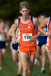 Clemson Tigers Sam Bryfczynski (110)..The Atlantic Coast Conference Cross Country Championships were held at Panorama Farms near Charlottesville, VA on October 27, 2007.  The men raced an 8 kilometer course while the women raced a 6k course.
