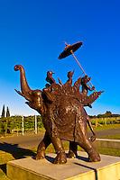 Elephant Hill Estate and Winery, Te Awanga coast, near Napier, Hawkes Bay, north island, New Zealand