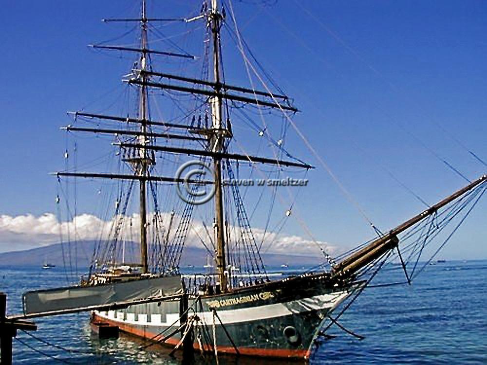 Carthaginian, At the Dock, Maui Hawaii
