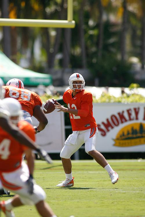 University of Miami Football Spring Game, April 7, 2007.
