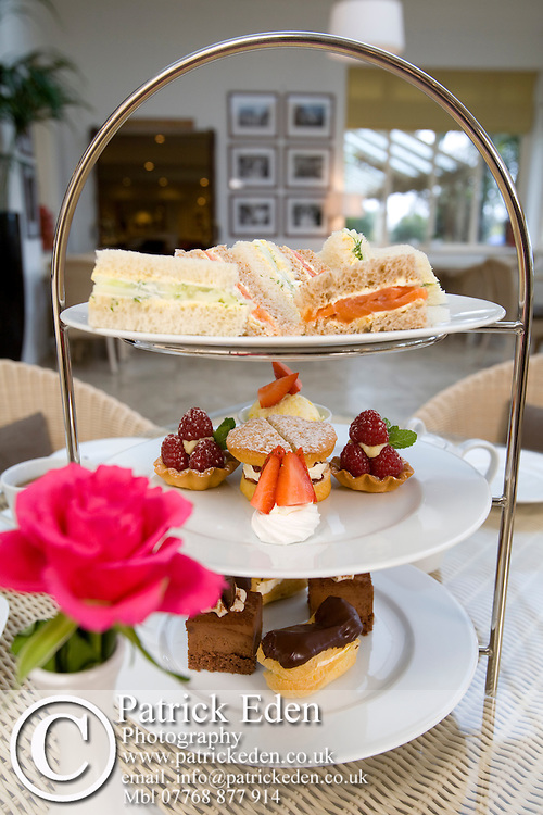 Afternoon Tea, Cakes, Scones, Tea, Pastries, Royal Hotel, Ventnor, Isle of Wight, England, UK, Photographs of the Isle of Wight by photographer Patrick Eden photography photograph canvas canvases