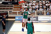 Luca Vitali <br /> Raduno Nazionale Maschile Senior<br /> Allenamento Mattutino Trentino Basket CUP<br /> Trento 29/07/2017<br /> Foto Ciamillo-Castoria/ A.Gilardi