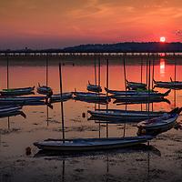 Sunrise across the Potomac River.
