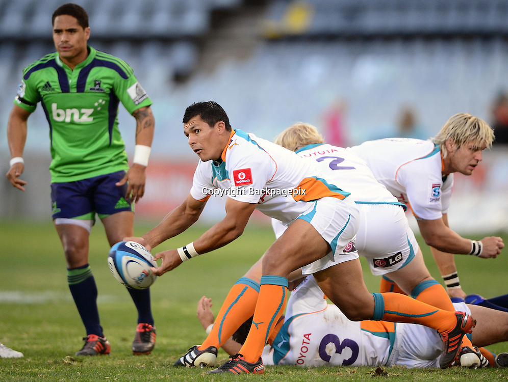 Tewis de Bruyn from the Toyota Cheetahs<br /> &copy; Gerhard Steenkamp/BackpagePix