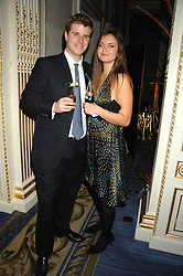 LADY NATASHA RUFUS-ISAACS and FREDDIE WINGFIELD-DIGBY at a party to celebrate the launch of The Essential Party Guide held at the Mandarin Oriental Hyde Park, 66 Knightsbridge, London on 27th March 2007.<br />